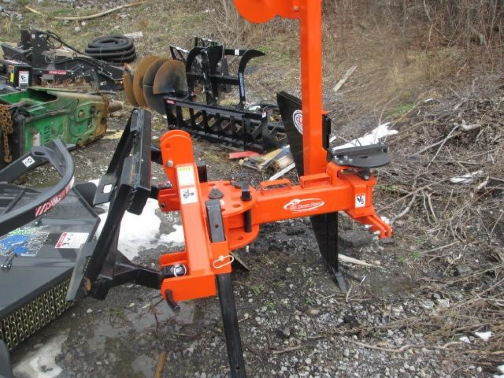Skid Steer Attachment Silt Fence Plow